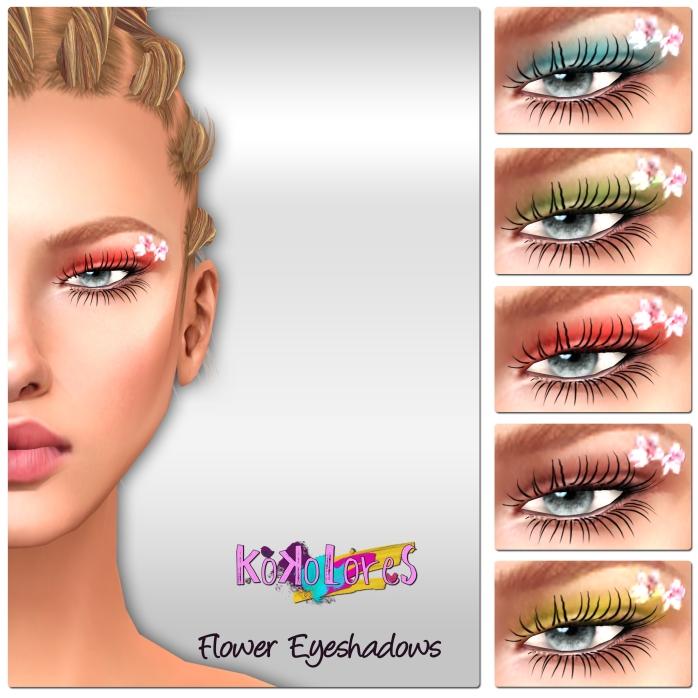 [KoKoLoReS] BP - Flower Eyeshadows