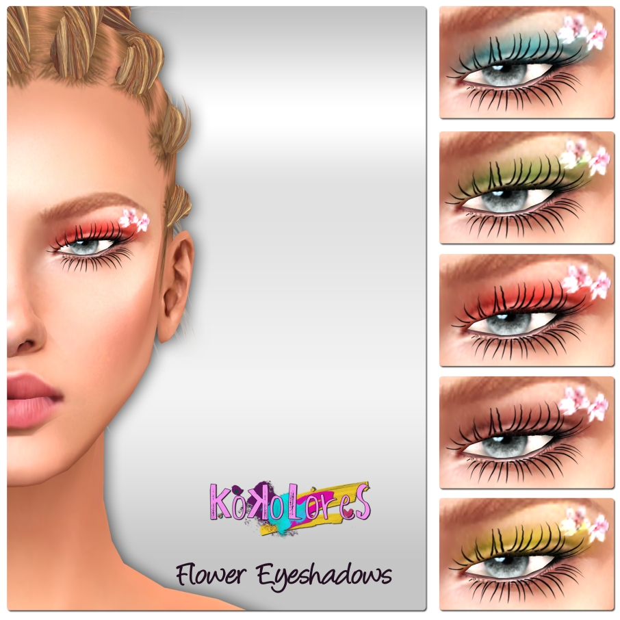[KoKoLoReS] BP - Flower Eyeshadows