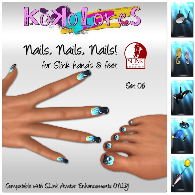 [KoKoLoReS]Nails, Nails, Nails! Set 06