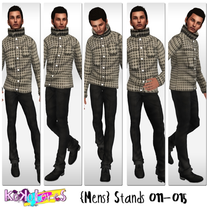 [KoKoLoReS]{Mens}Stands 011-015