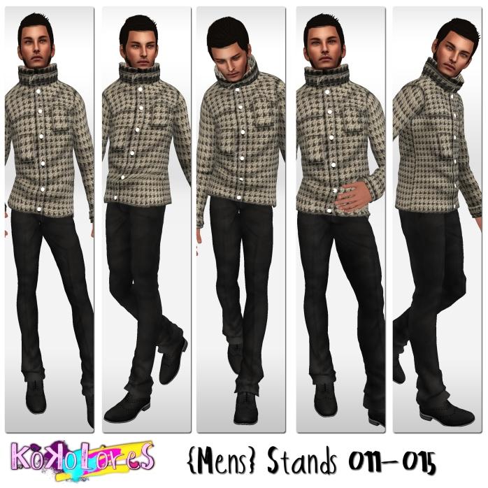 [KoKoLoReS]{Mens}Stands 011-015