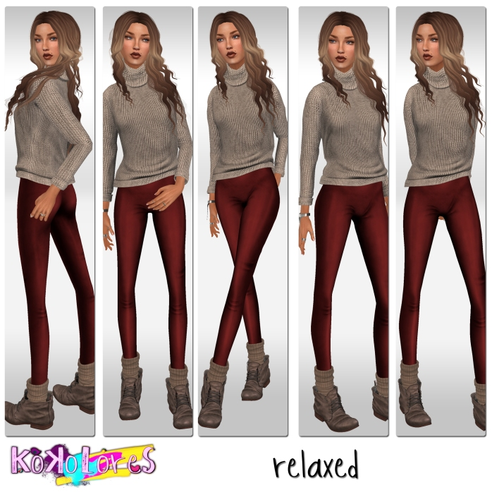 [KoKoLoReS]{relaxed}poses