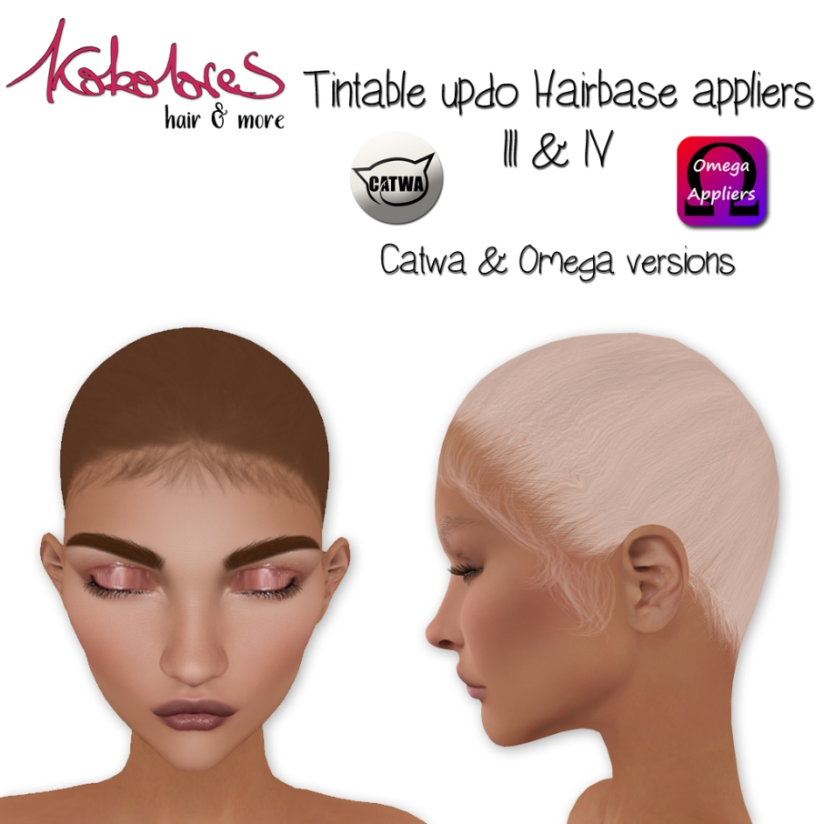 [KoKoLoReS]-Hairbases-III&IV-applier---Omega-Catwa