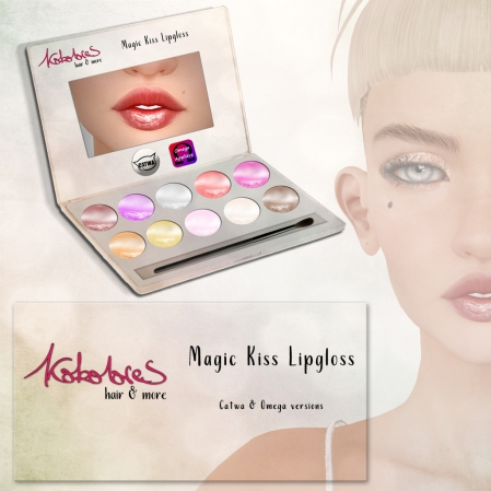[KoKoLoReS] Magic Kiss Lipgloss