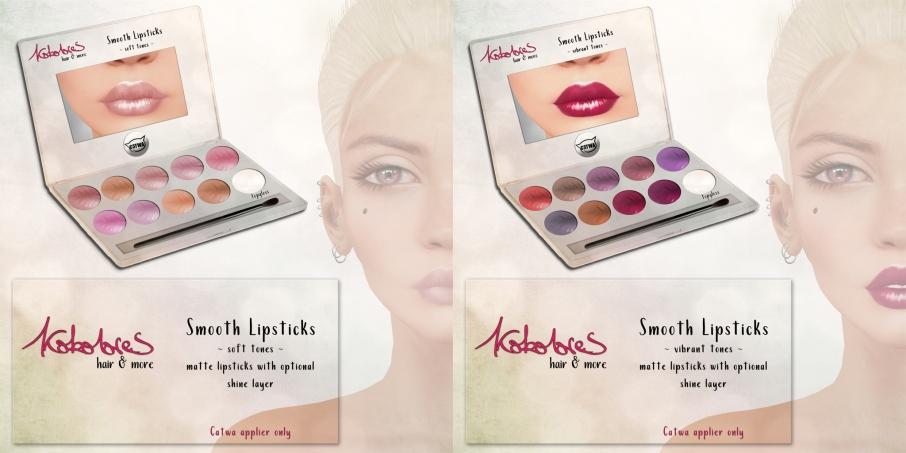 [KoKoLoReS] Smooth Lipsticks